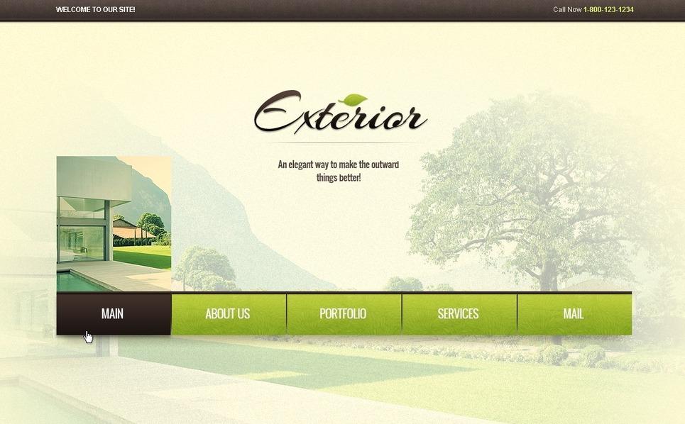Exterior Design Flash Template New Screenshots BIG