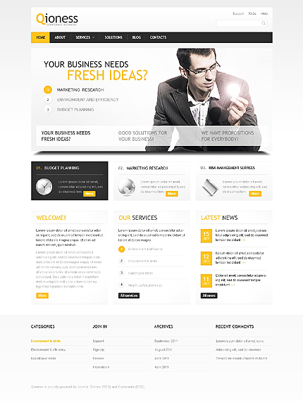 Website Template #39375