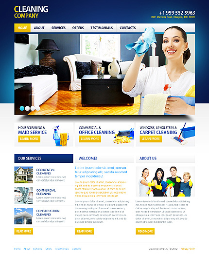 Website Template #39377
