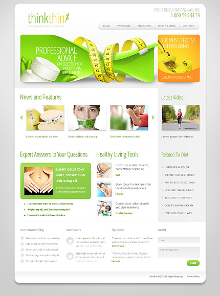 Website Template #39380