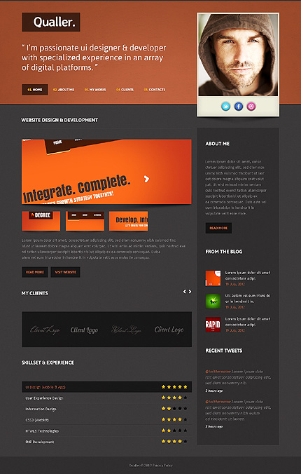 Website Template #39382