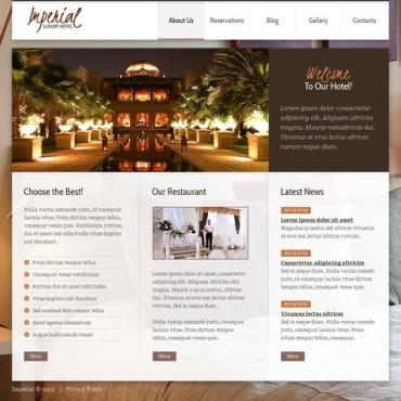 Hotels Joomla Template