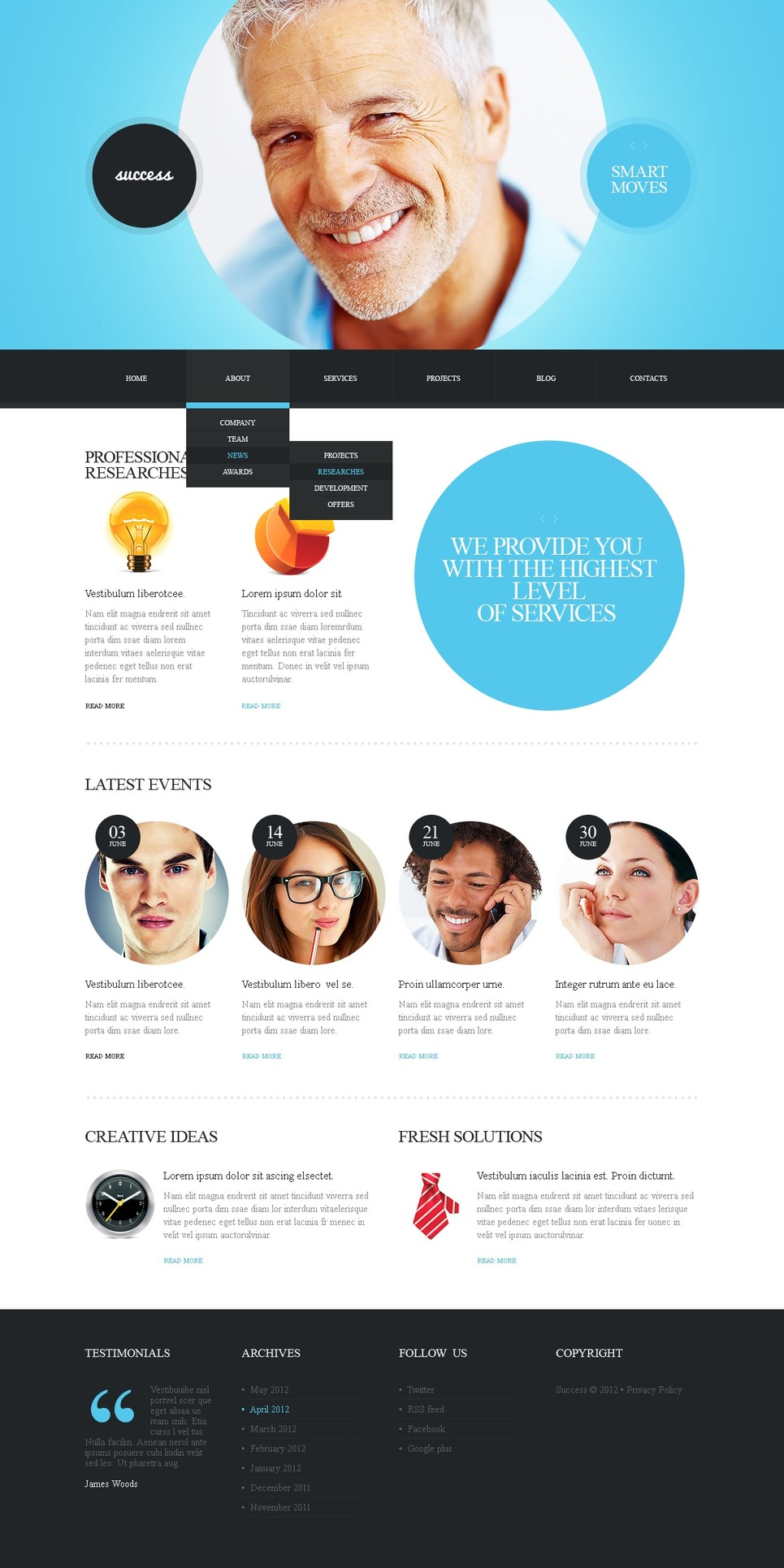 Marketing Agency Joomla Template New Screenshots BIG