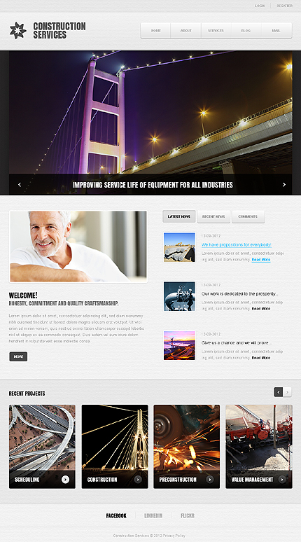 Website Template #39389
