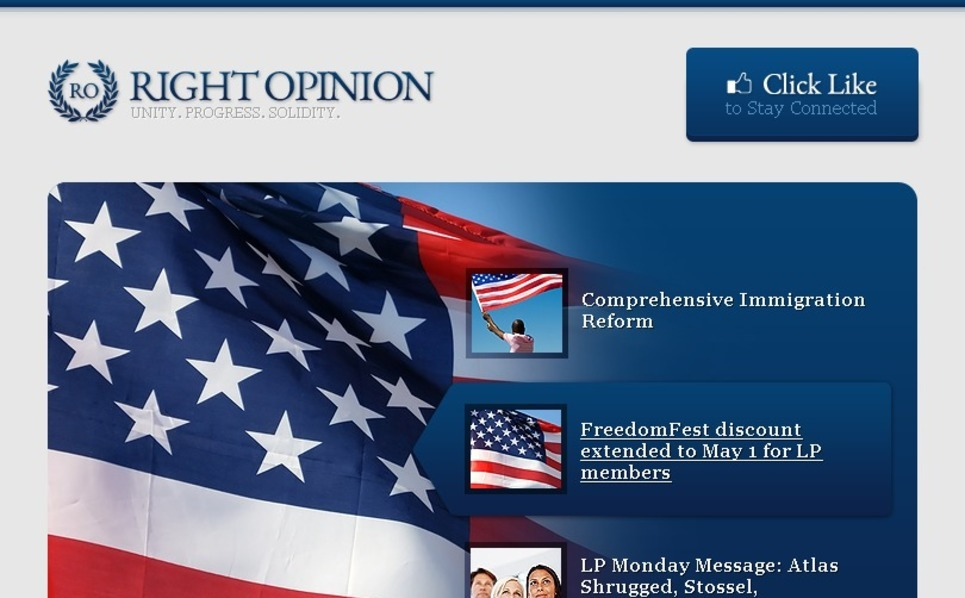 Politics Facebook Template New Screenshots BIG