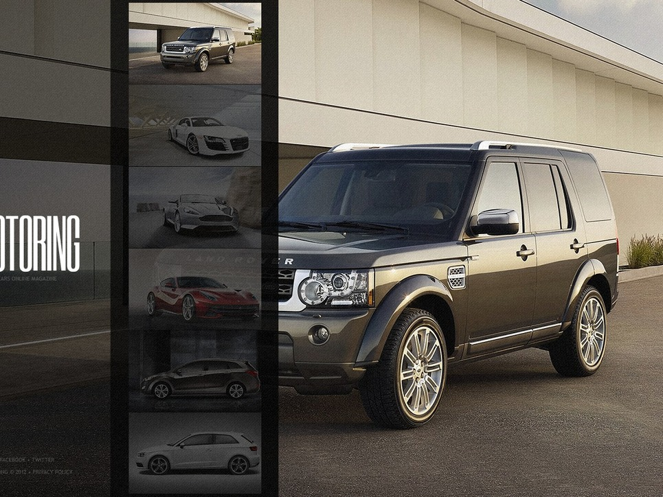 Car Website Template New Screenshots BIG