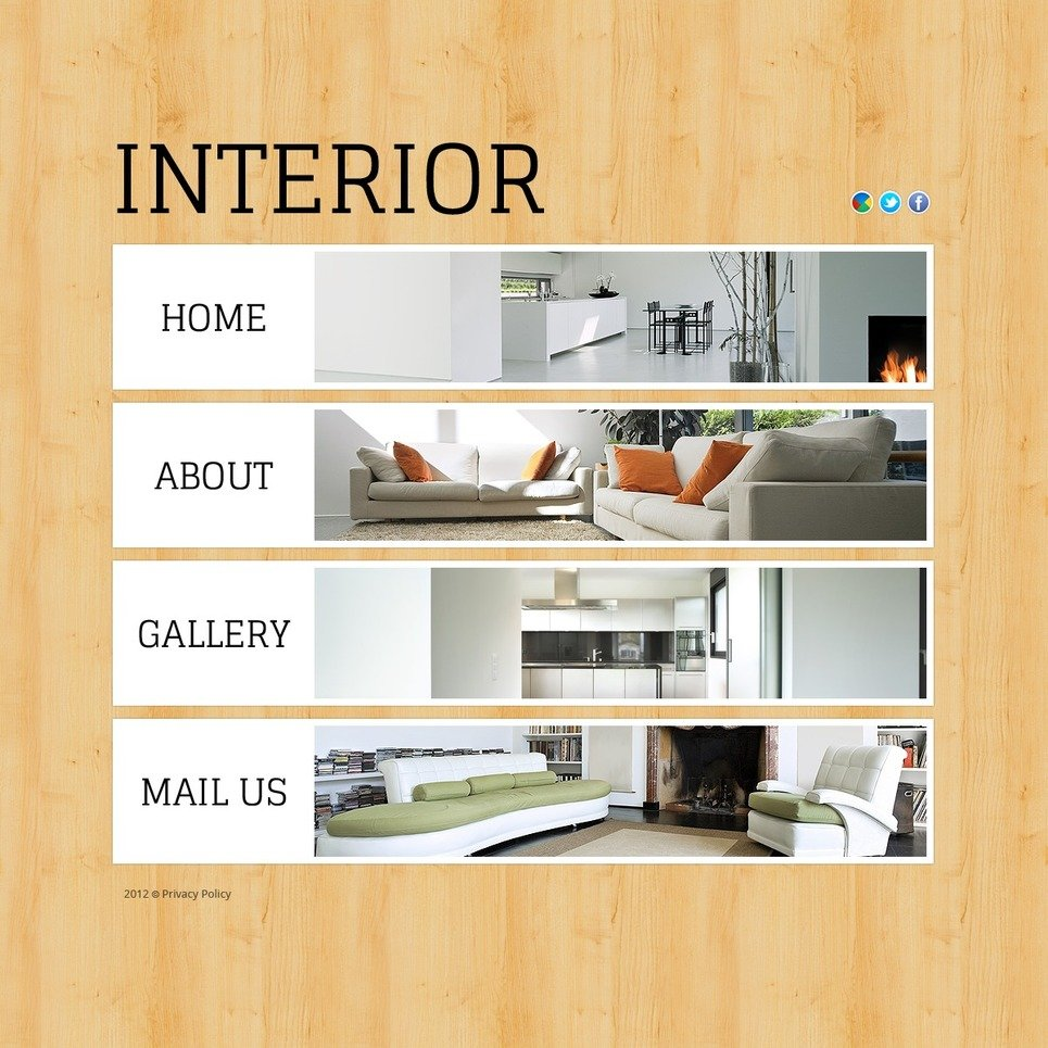Interior Design Flash Template New Screenshots BIG