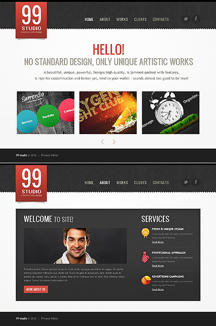 Website Template #39431