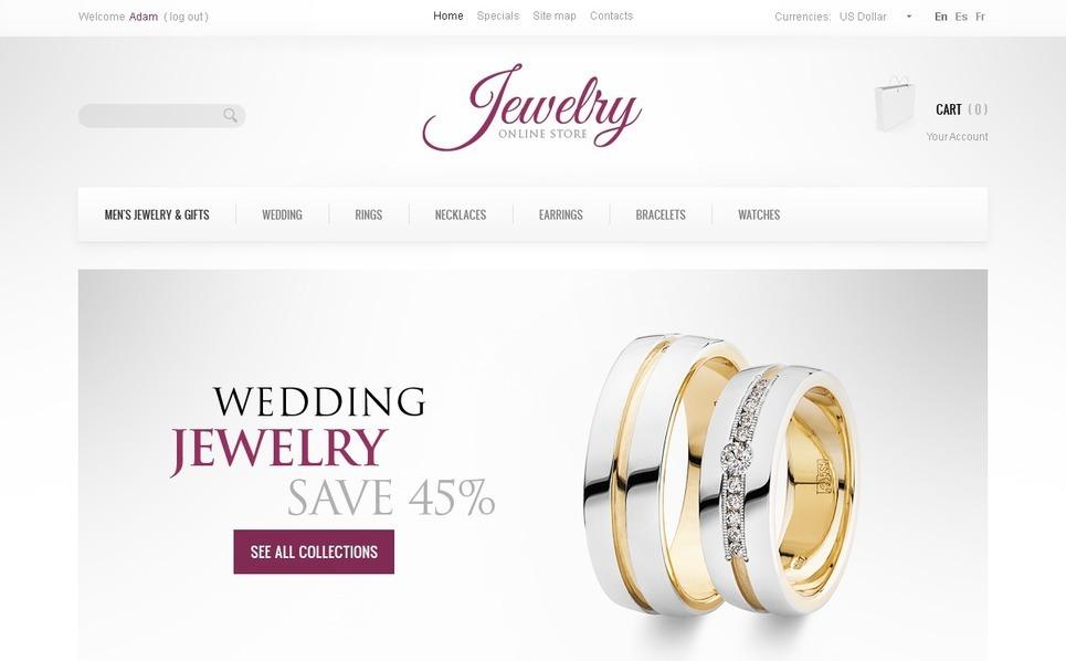 Jewelry Brand PrestaShop Theme New Screenshots BIG