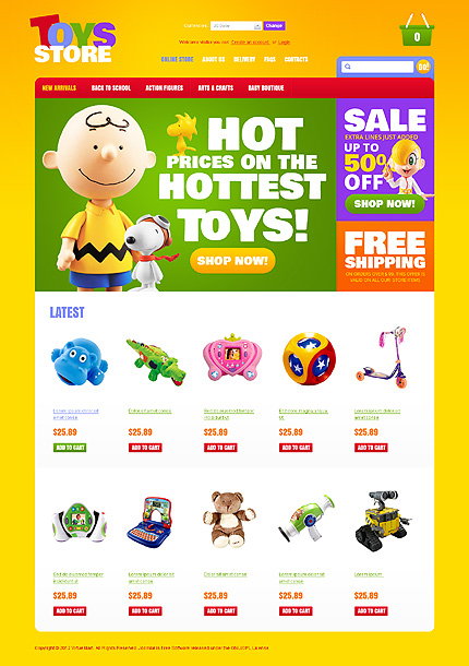 Toys store - Refreshing Toy Store For Kids