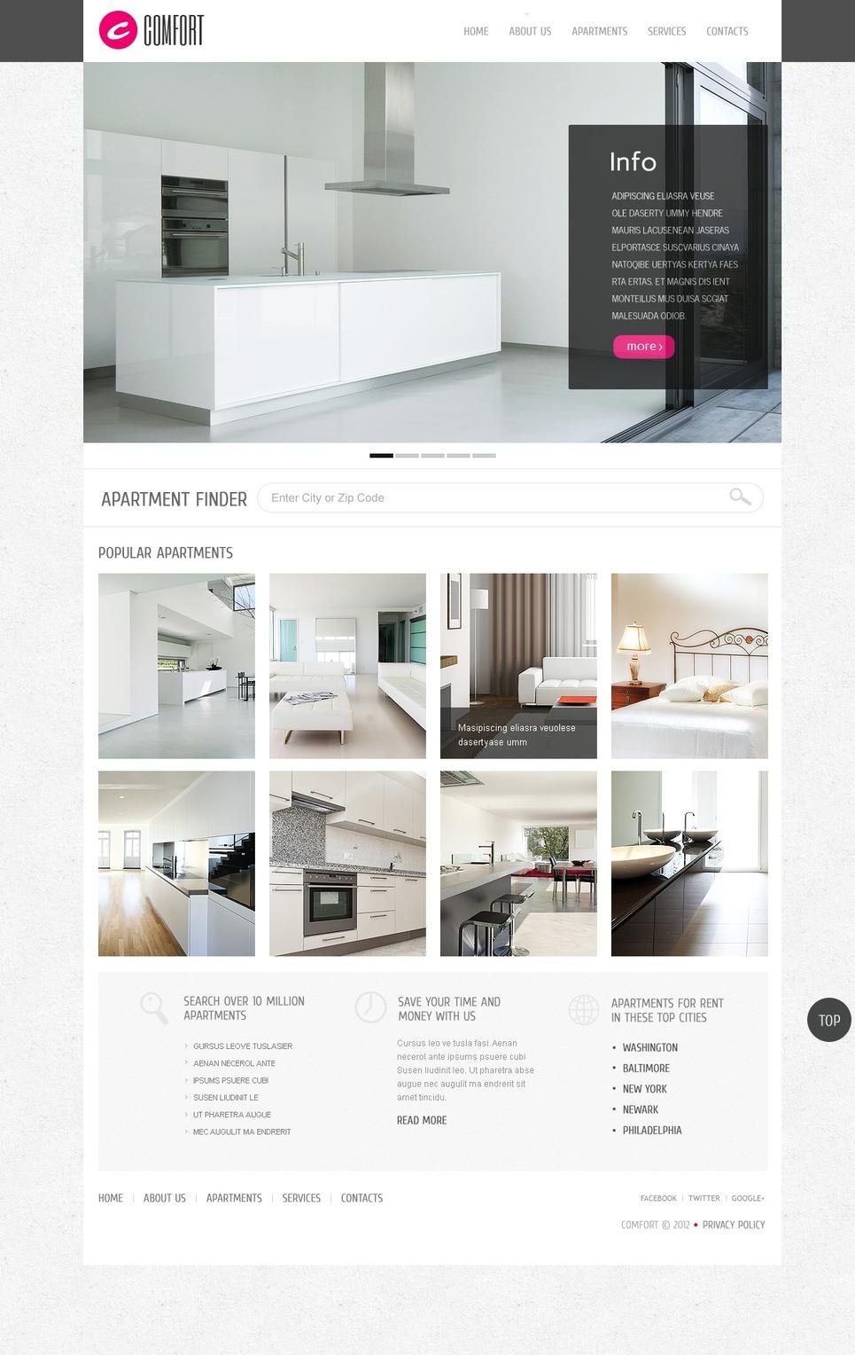 Real Estate Agency WordPress Theme New Screenshots BIG