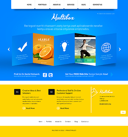 Website Template #39449