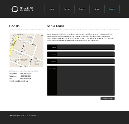 Website Template #39453