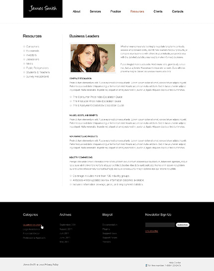 Website Template #39457