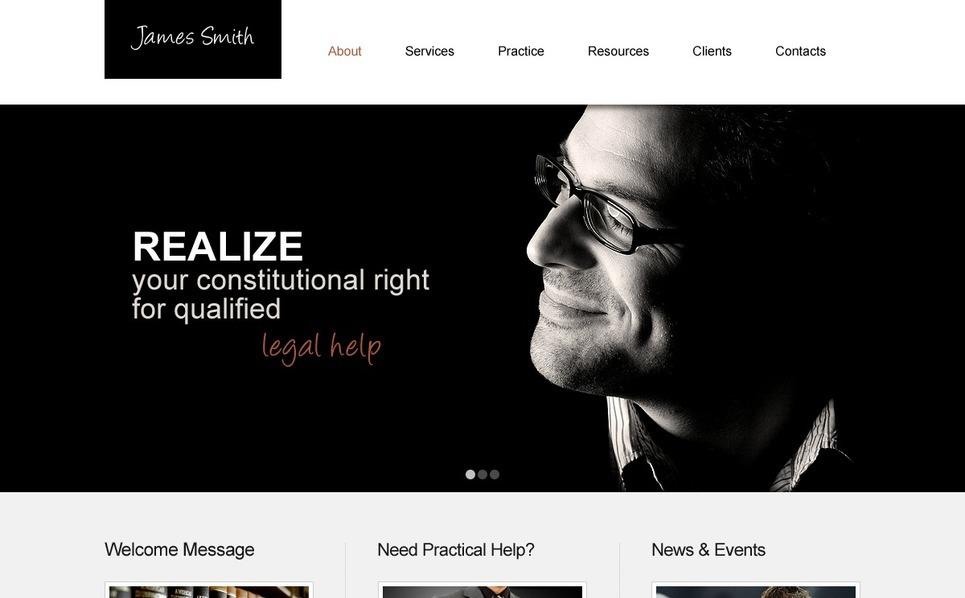 Lawyer Responsive Website Template New Screenshots BIG