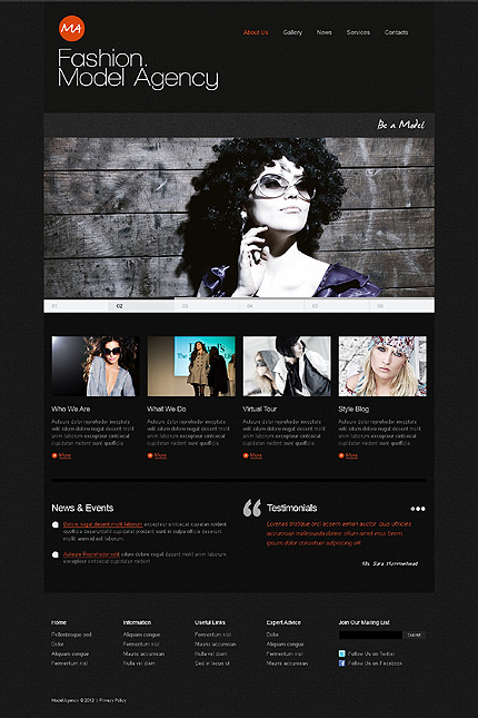 Website Template #39465