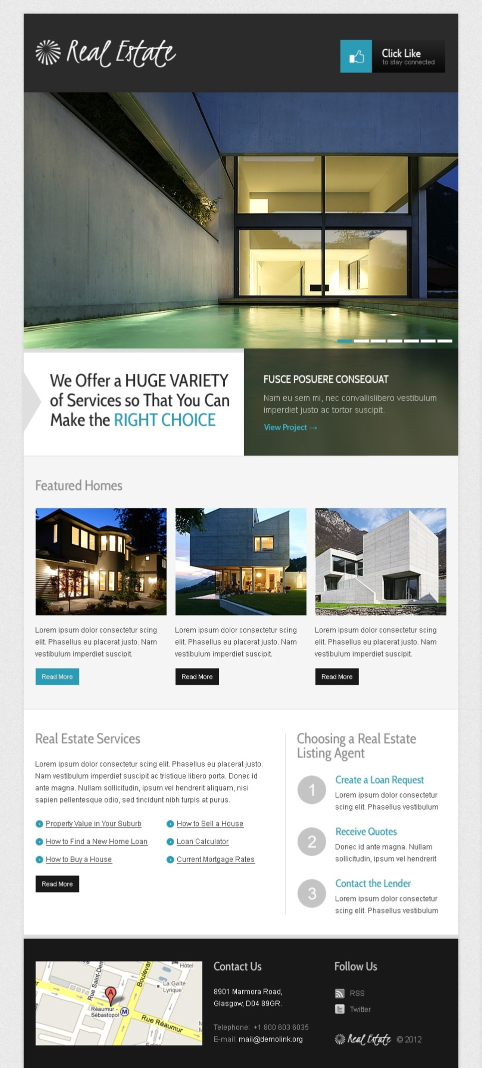 Real Estate Agency Facebook Template New Screenshots BIG