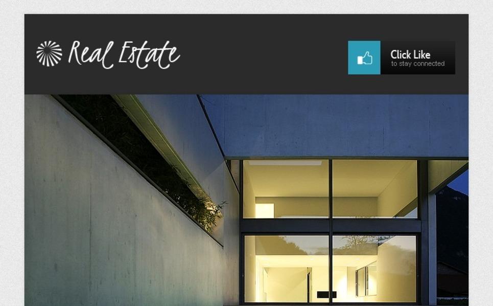 Real Estate Agency Facebook Template New Screenshots BIG