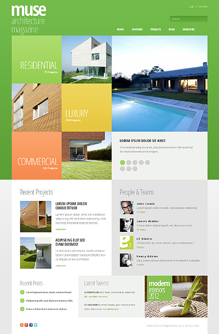 Website Template #39475