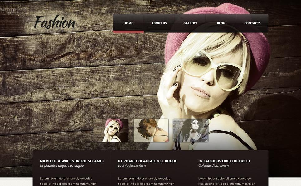 Fashion WordPress Theme New Screenshots BIG