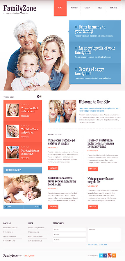 Website Template #39489