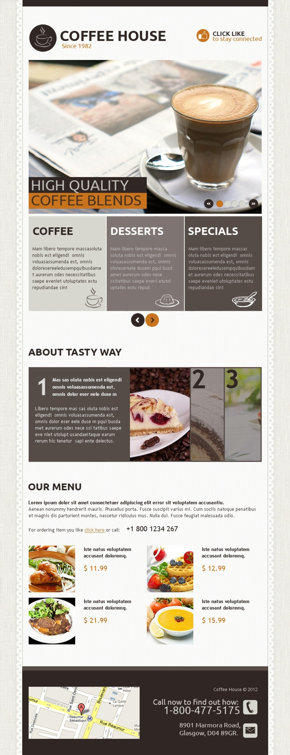 Coffee Shop Facebook Template New Screenshots BIG