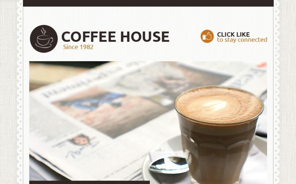 Coffee Shop Facebook Template New Screenshots BIG