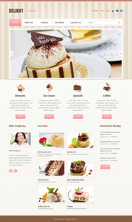 Website Template #39511