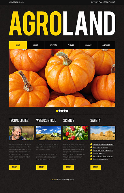 Website Template #39512