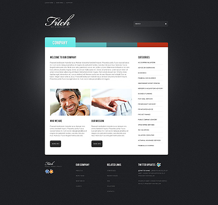Website Template #39516