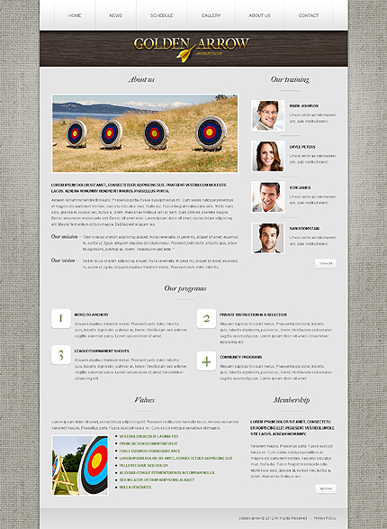 Website Template #39519