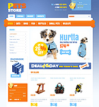 Pets' Store - PrestaShop Theme #39553 by Hermes