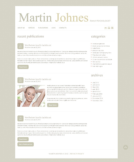 Website Template #39554