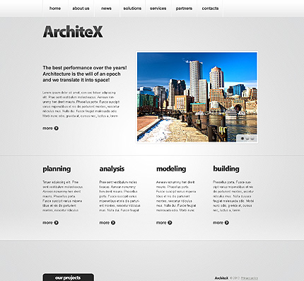 Website Template #39561