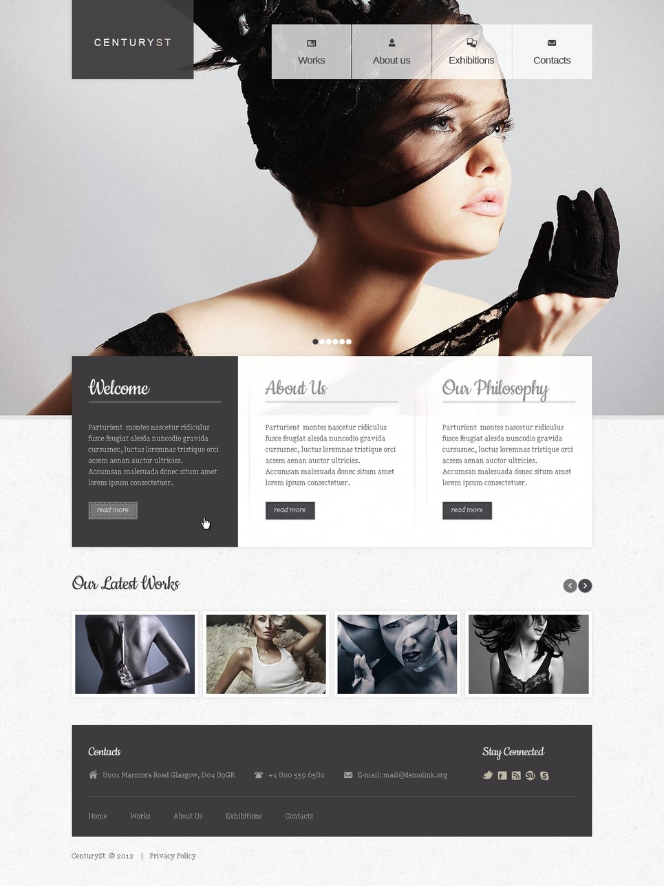 Photo Studio Website Template New Screenshots BIG