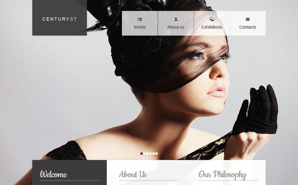 Photo Studio Website Template New Screenshots BIG