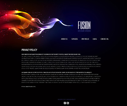 Website Template #39570