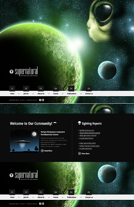 Website Template #39575