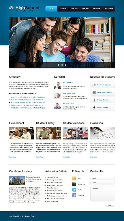 Website Template #39602