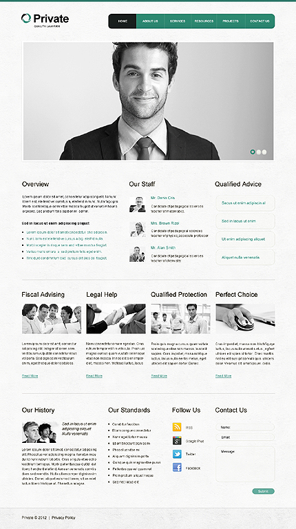 Website Template #39603