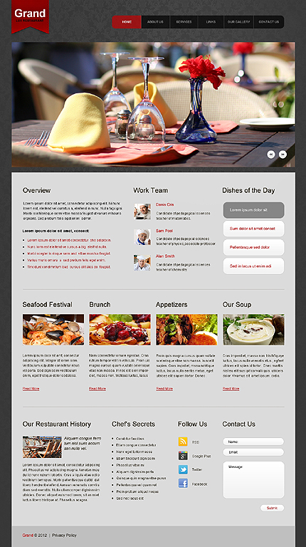 Website Template #39604