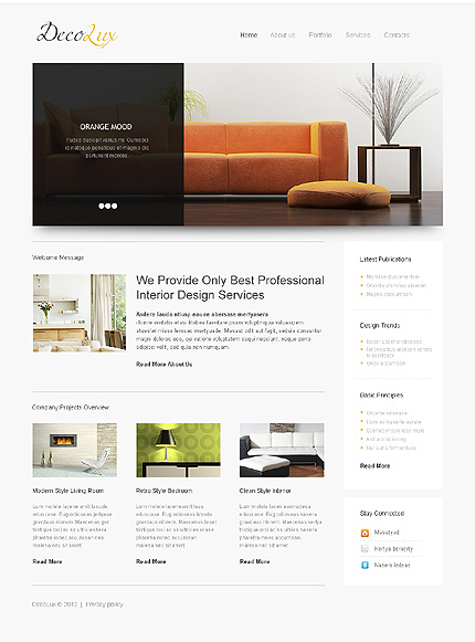 Website Template #39608