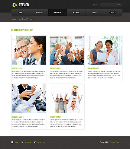 Website Template #39609