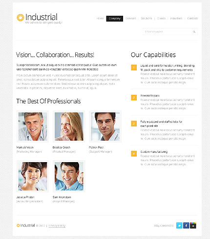 Website Template #39610