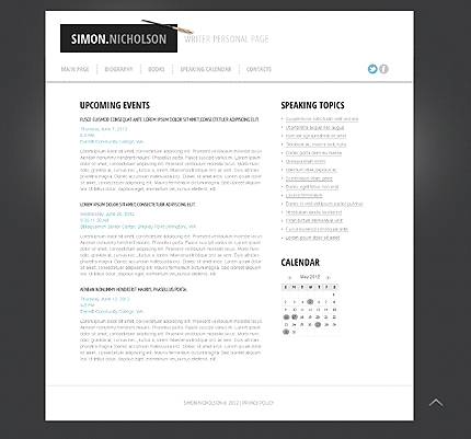 Website Template #39613