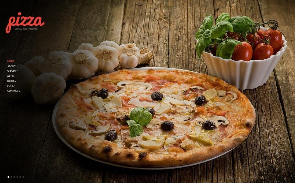 Pizza Website Template New Screenshots BIG