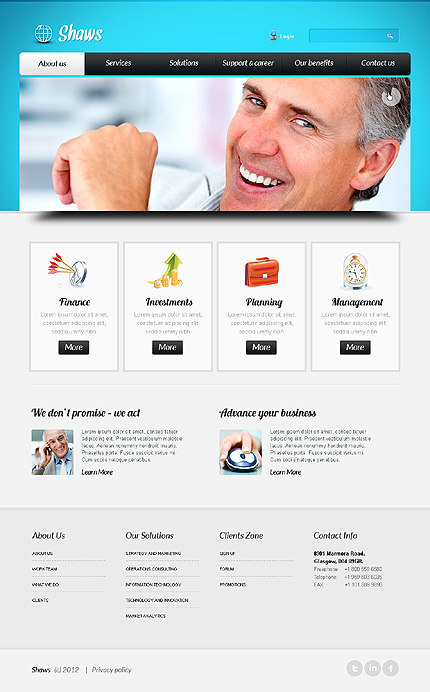 Website Template #39618