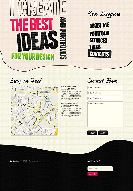Website Template #39620