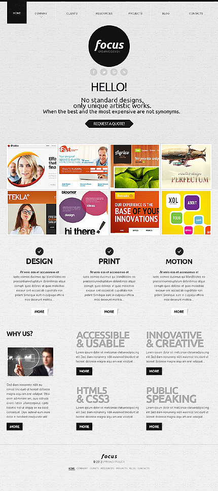 Website Template #39660