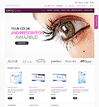 Contact Lenses - PrestaShop Theme #39666 by Hermes